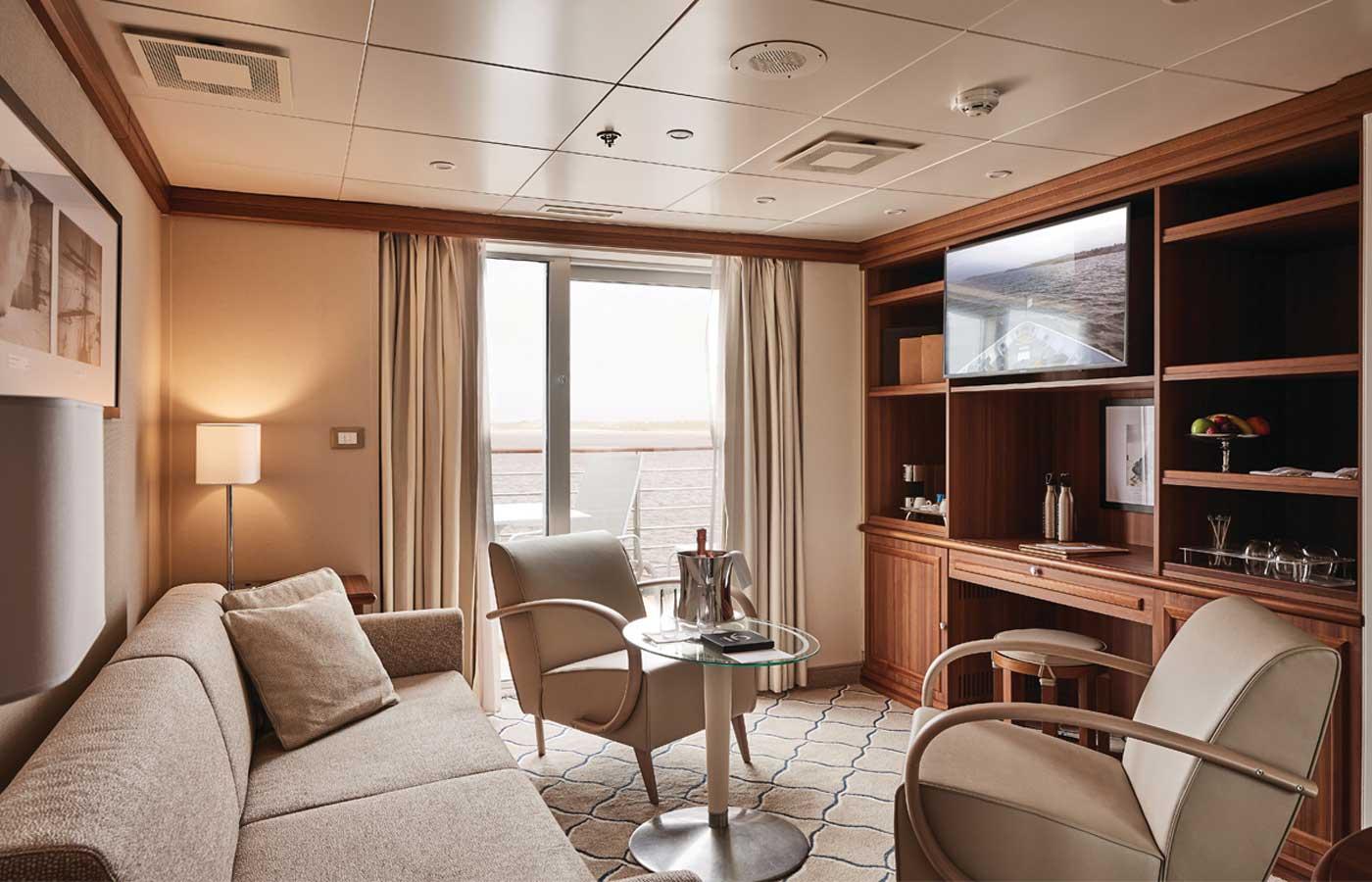 Owners Suite, Silver Explorer-Antarctica Cruise