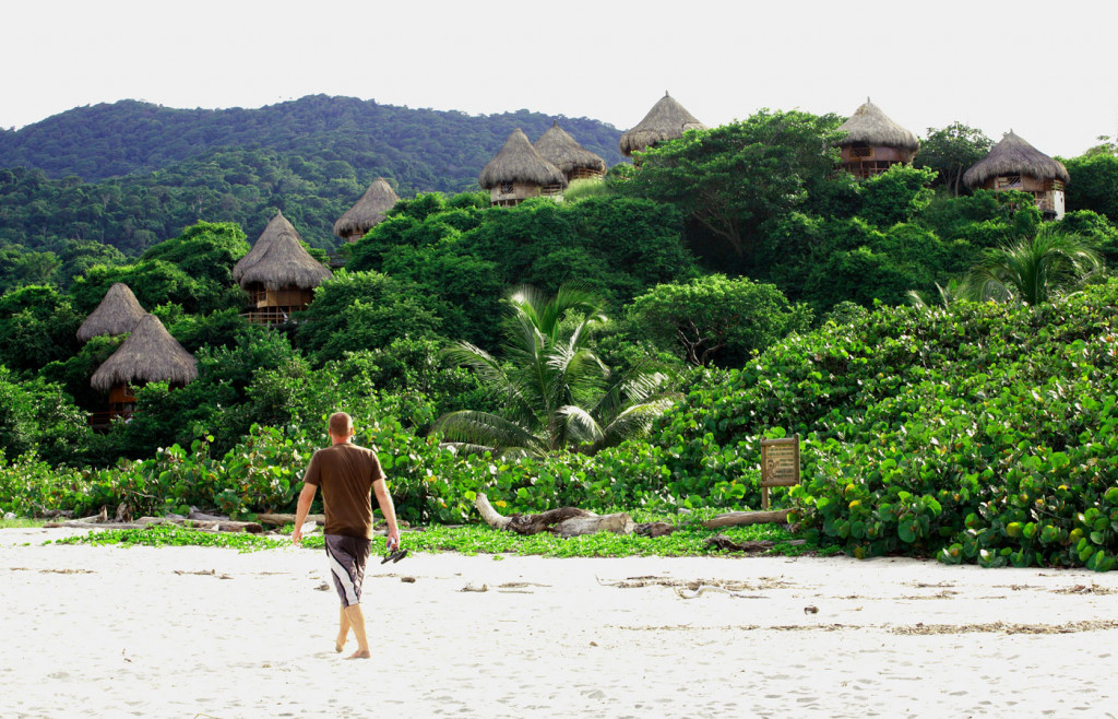 Tayrona National Park, Colombia. Beaches and Rainforest.