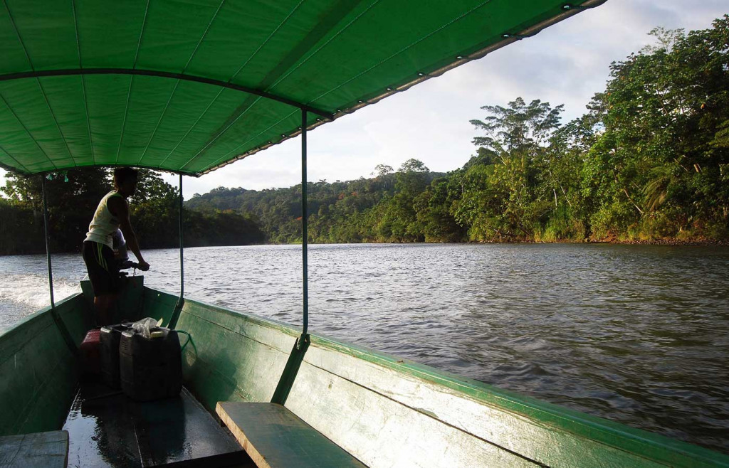 Exploring the Amazon river system
