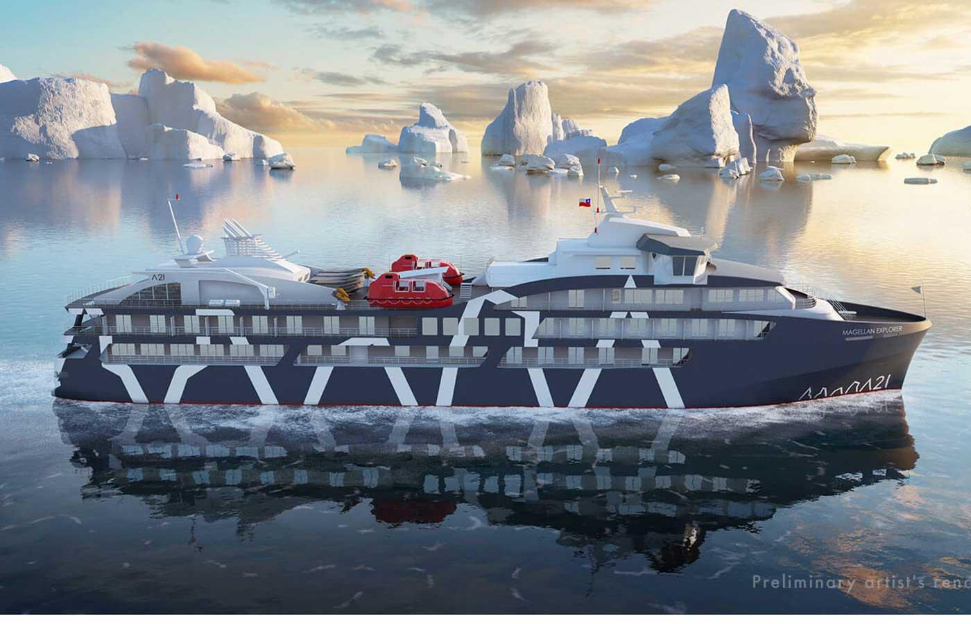 Magellan-Exterior Antartica Cruise