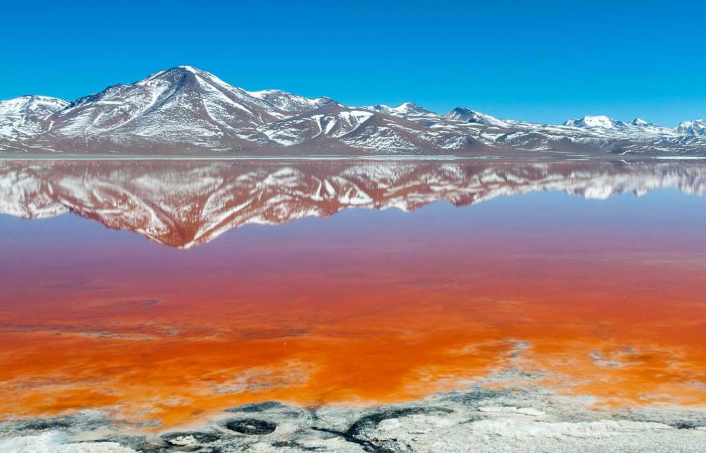 The Laguna Colorada, Bolivia