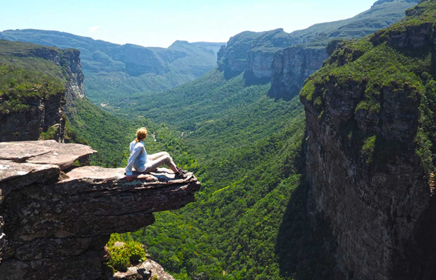 Views from Pai Inacio Mountain in Chapada Diamantina, Bahia, Brazil