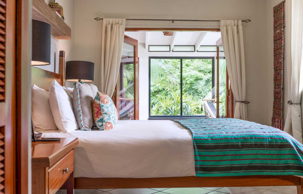 A stylish Balam Suite at Ka'ana Resort, Belize