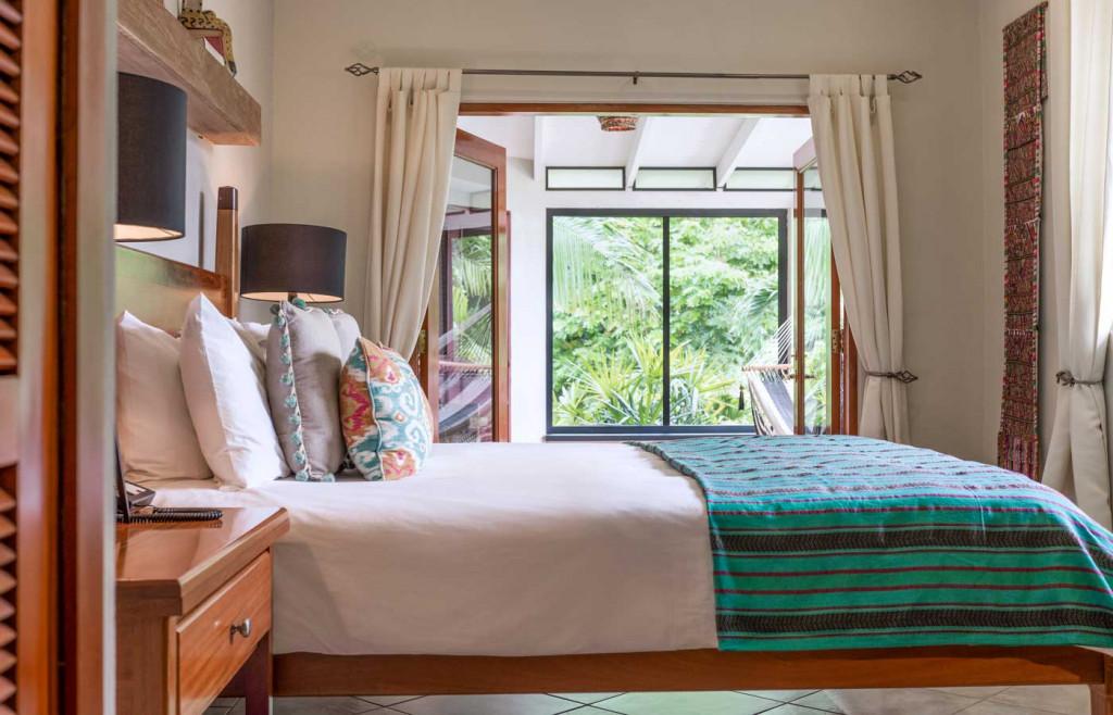 A stylish Balam Suite at Ka'ana Resort, Belize