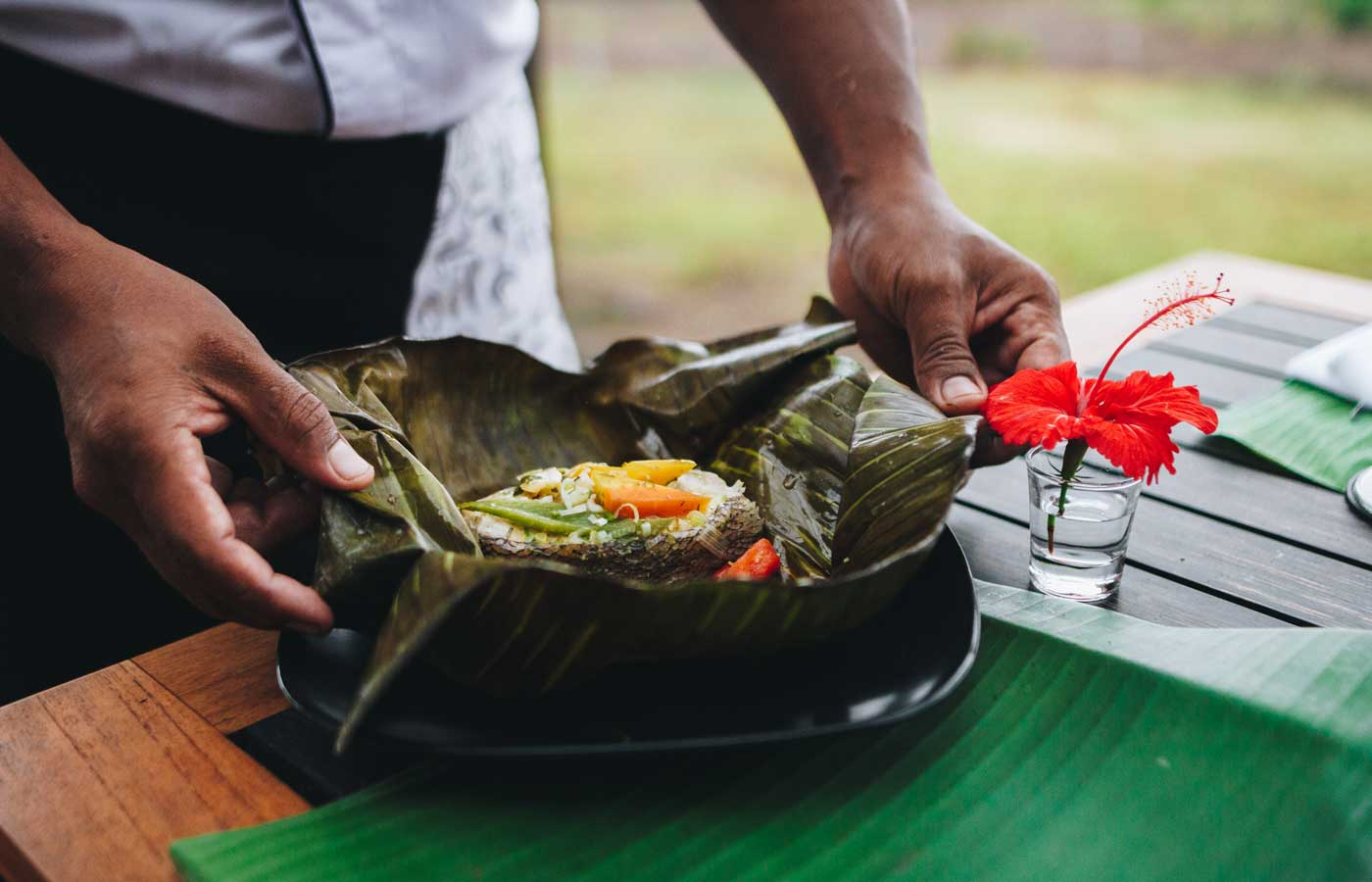 Traditional cuisine at the Montemar Villas - Luxury holidays to Ecuador and the Galapagos