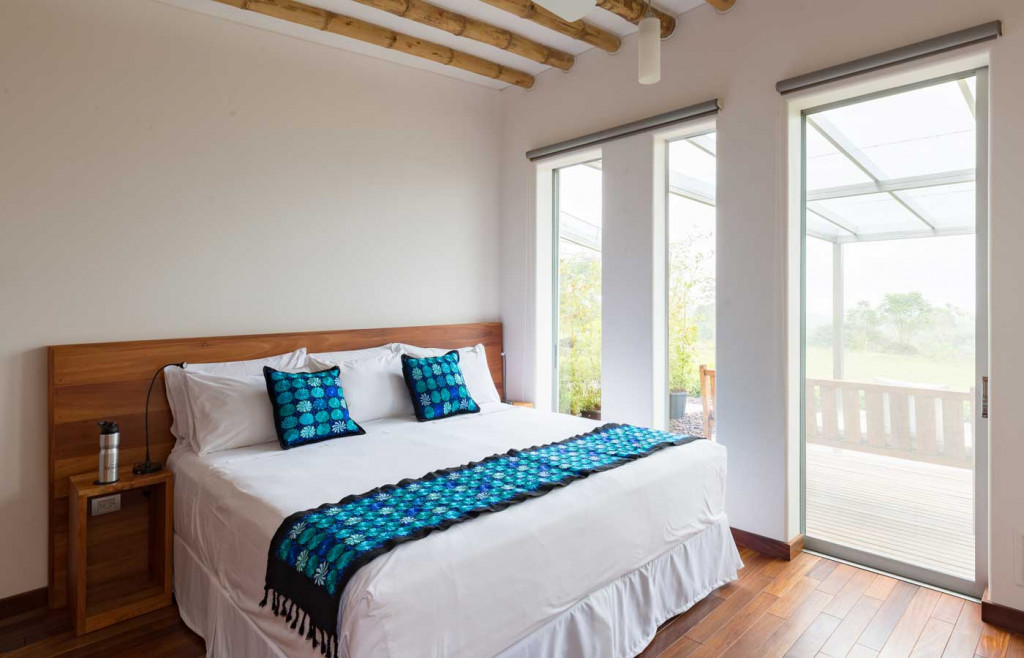 A comfortable suite at Montemar - Luxury holidays to the Galapagos