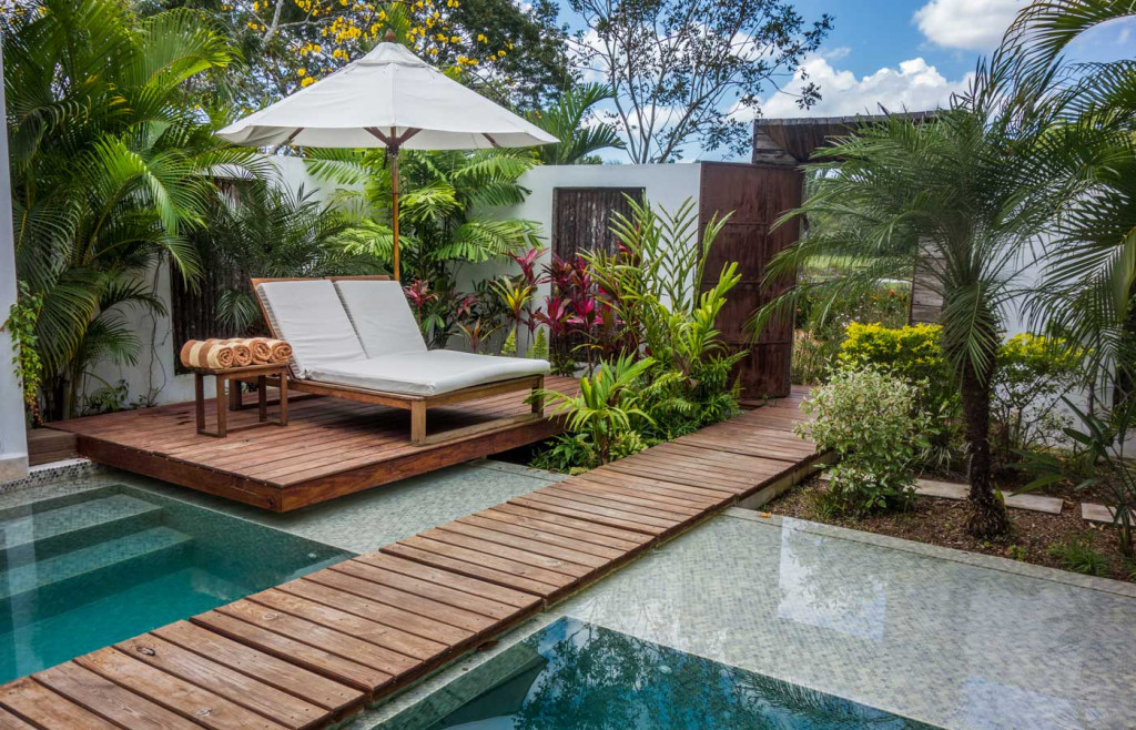 A two bedroom villa at the luxury Ka'ana Resort in Belize