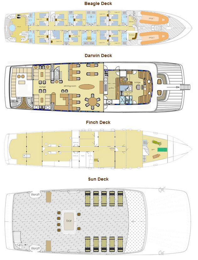 Origin and Theoy Deck Plan