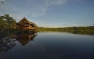 Exterior view of Sacha Lodge - Ecuadorian Amazon - Luxury holidays in Ecuador