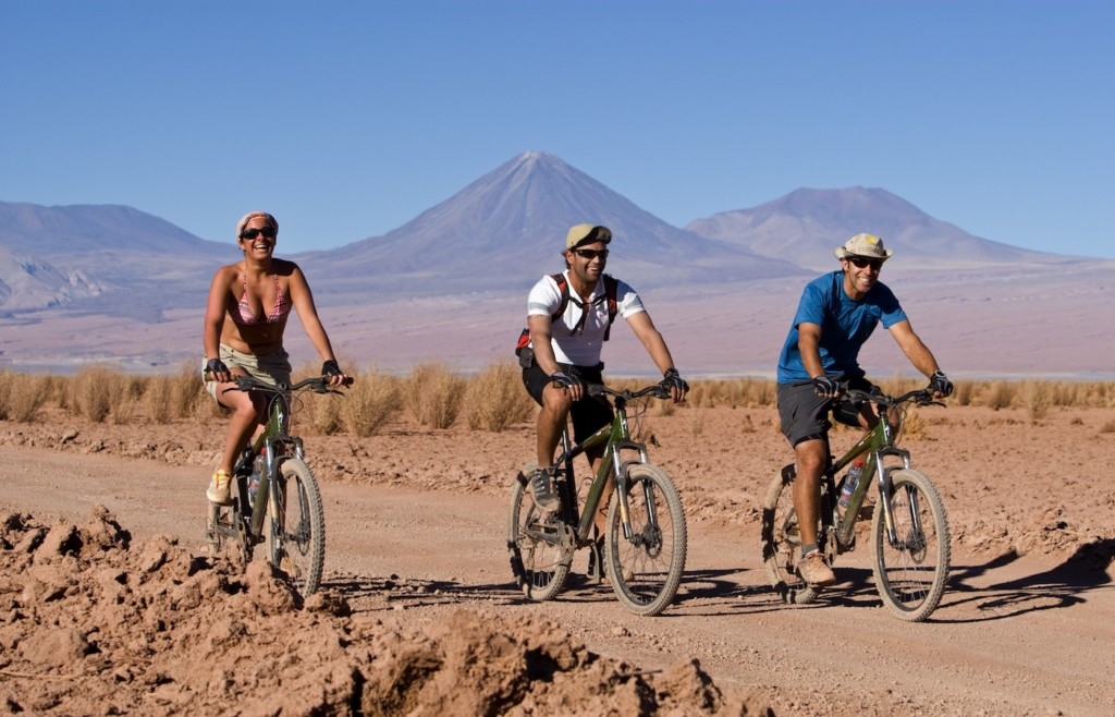Bikes rides in the Atacama - Tierra