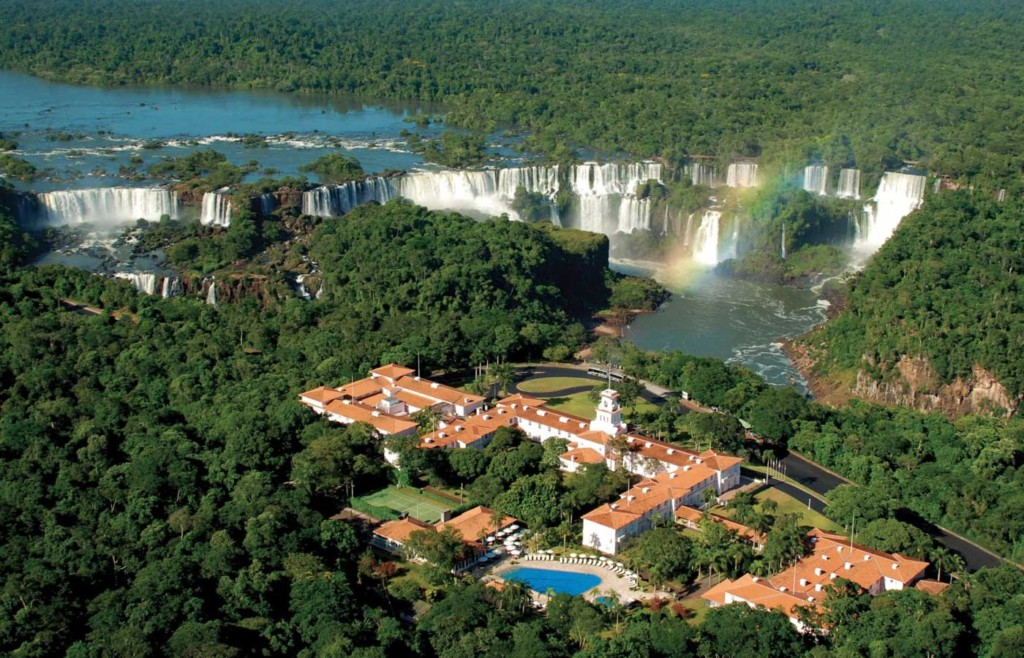 Aerial view of Belmond Hotel Das Cataratas - Luxury holidays to Brazil - Iguassu