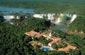 Aerial view of Belmond Hotel Das Cataratas - Luxury holidays to Brazil - Iguassu
