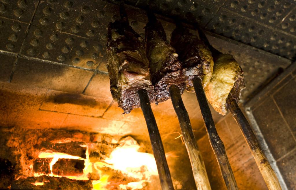 Traditional food at the Comuna do Ibitipoca - Minas Gerais, Brazil