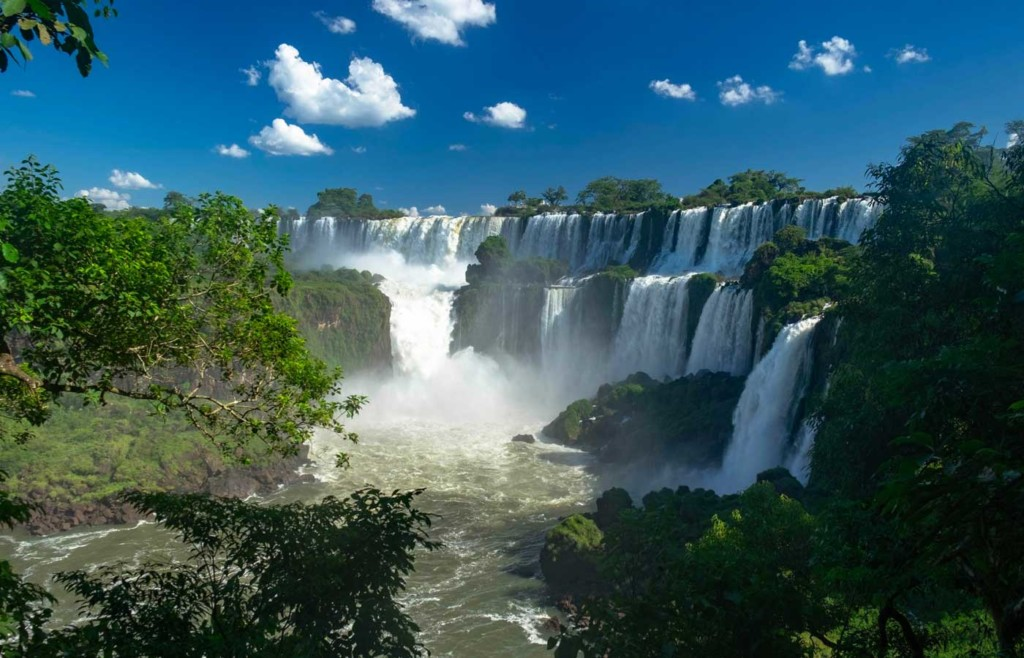 Views of Iguassu Falls - Luxury holidays to South America