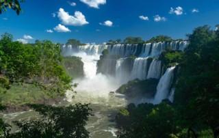 Views of Iguassu Falls - Luxury holidays to South America