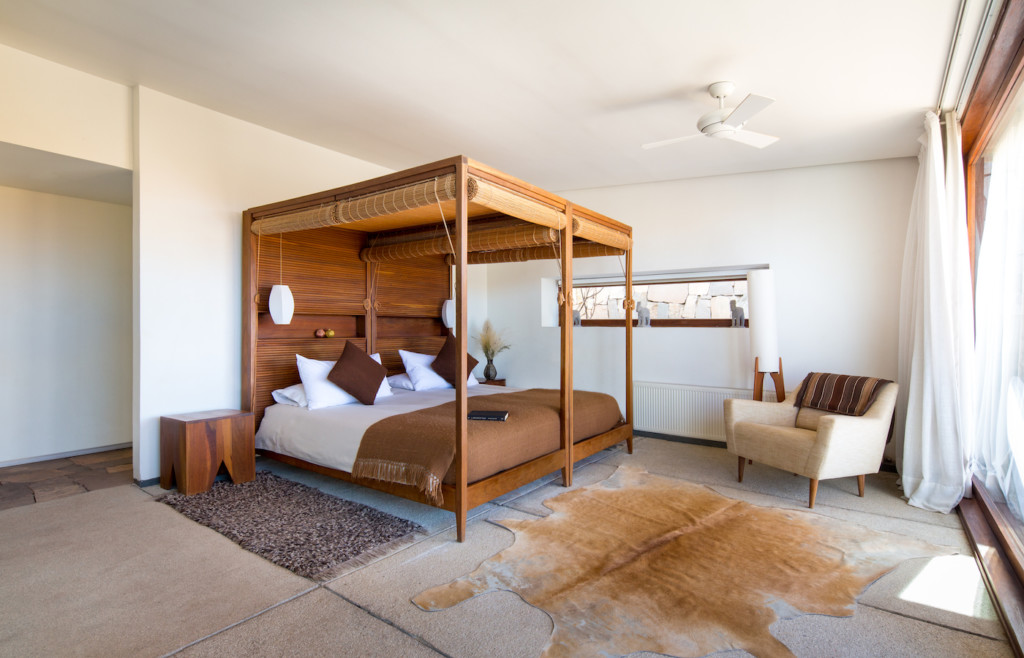 Stylish rooms at Tierra, northern Chile