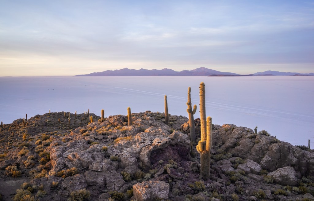 View from Incahuasi Island - Luxury holidays to Bolivia