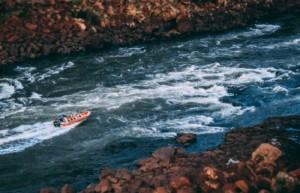 Luxury holidays to Argentina - Iguassu Falls - Boat ride