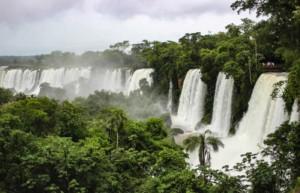Brazil side of Iguassu Falls - Holidays to Brazil
