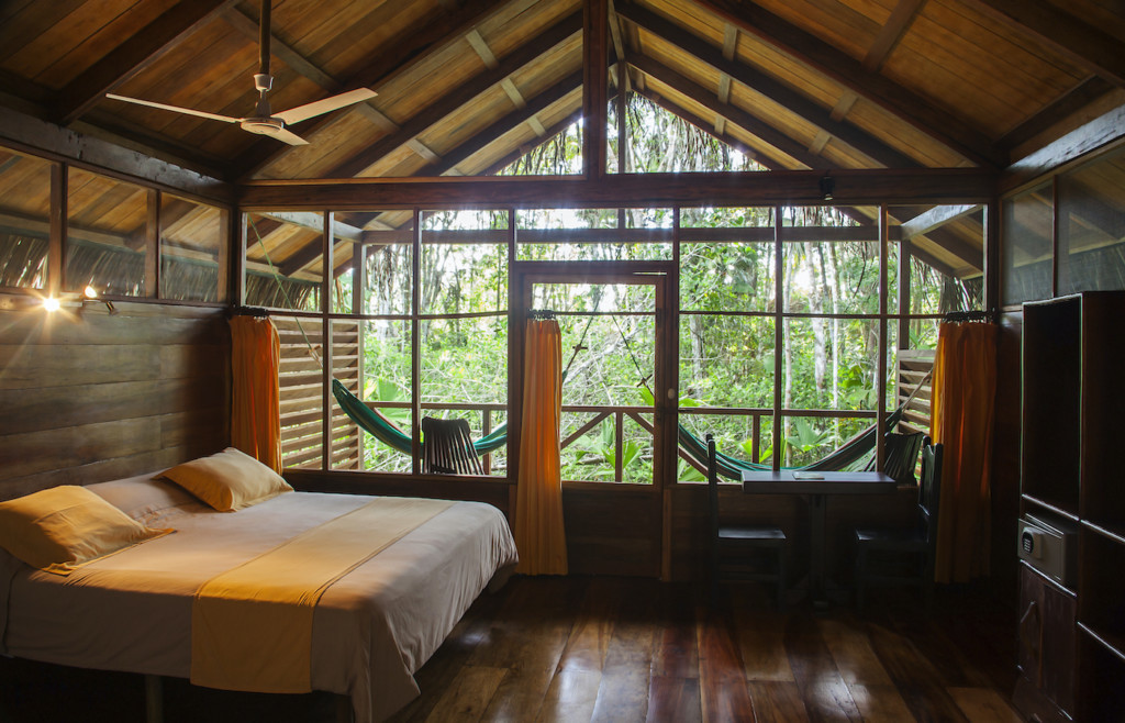 Rooms at Sacha Lodge - Ecuador Amazon - Luxury holidays