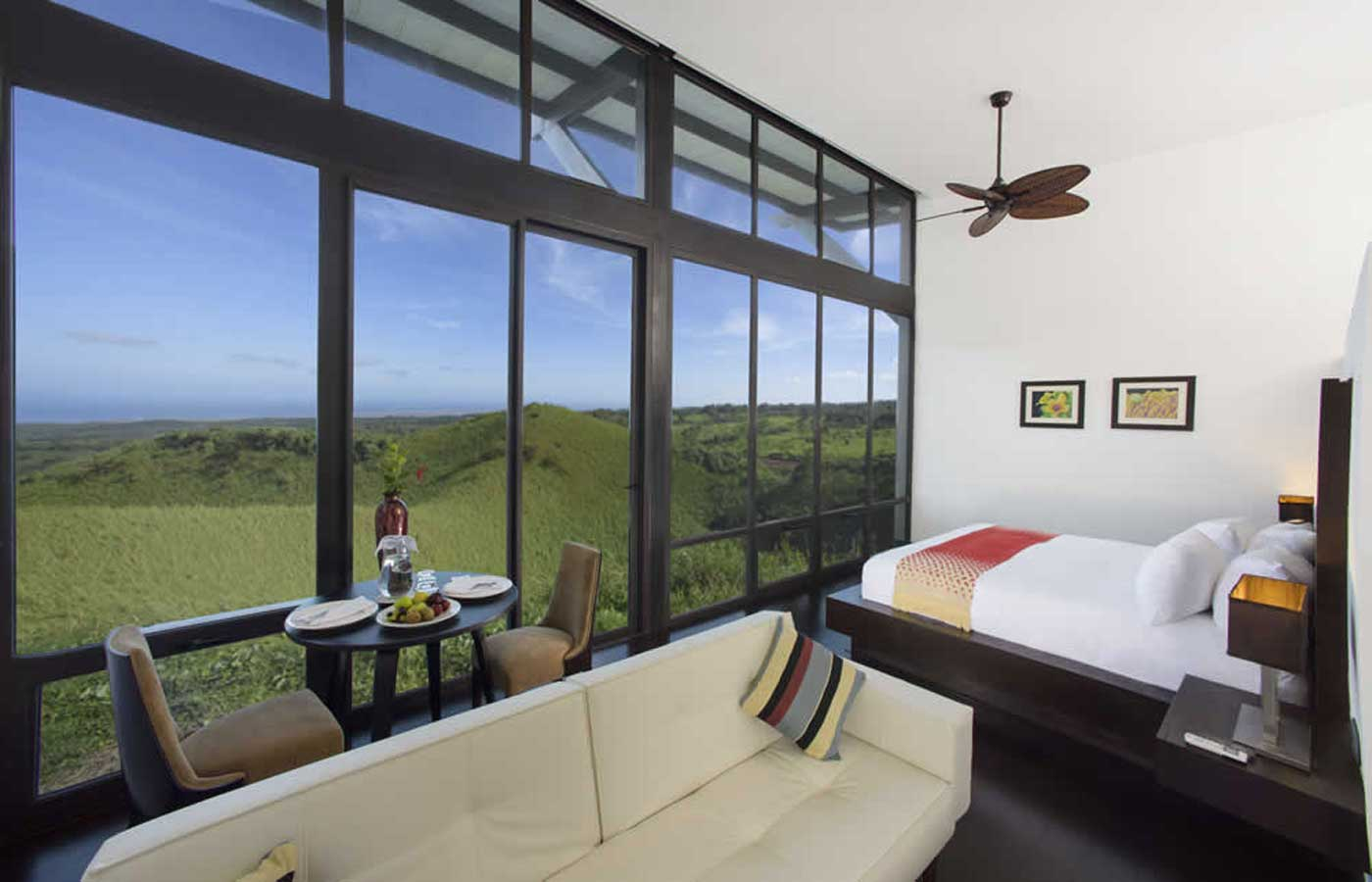 Rooms at Pikaia Lodge - Relais & Chateaux