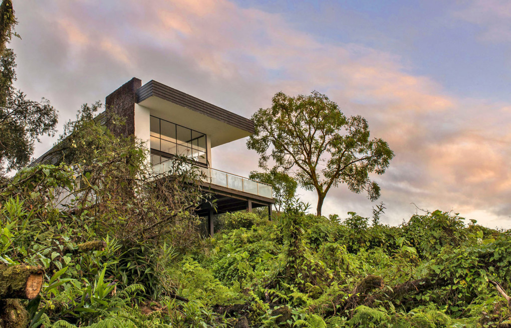 Exterior of Scalesia Lodge - Luxury Holidays to the Galapagos
