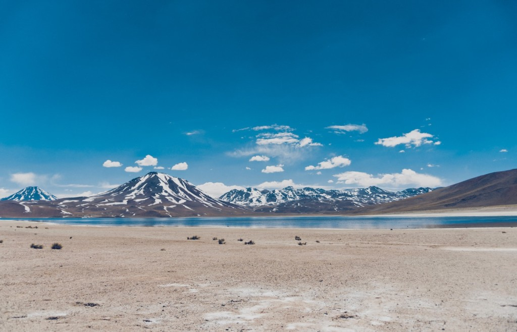 Mountain lagoon in southern Bolivia