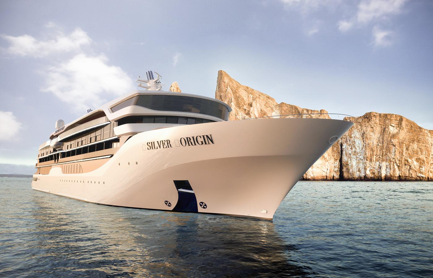 Ship Exterior, Silver Origin, Galapagos