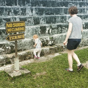 Travelling with a family - Latin America - Tikal
