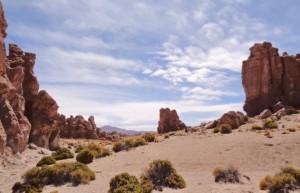 Valle de las Rocas on the Bolivian altiplano