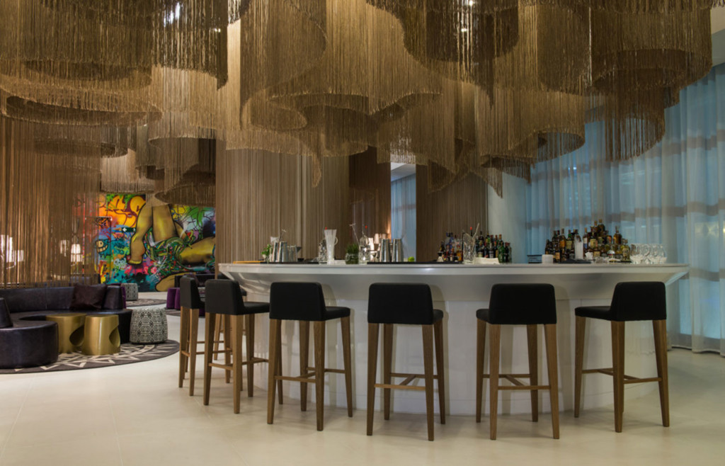 Enjoy the sophisticated W Bogota bar