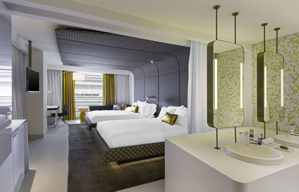 A spacious room at the W Bogota, Luxury Holidays to Colombia